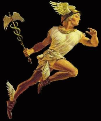 hermes, the messenger of gods