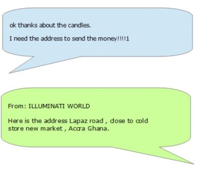 How I almost joined the Illuminati by answering an email – To say
